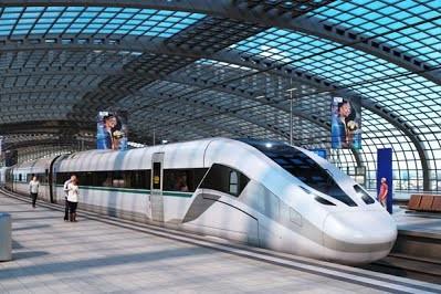 Компания Siemens представила концепцию нового высокоскоростного поезда