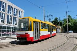 В Одессе реконструируют конечную станцию трамвая на Большом Фонтане