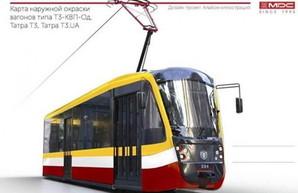 Одесса закупает шесть новых трамваев с оригинальным дизайном (ФОТО)