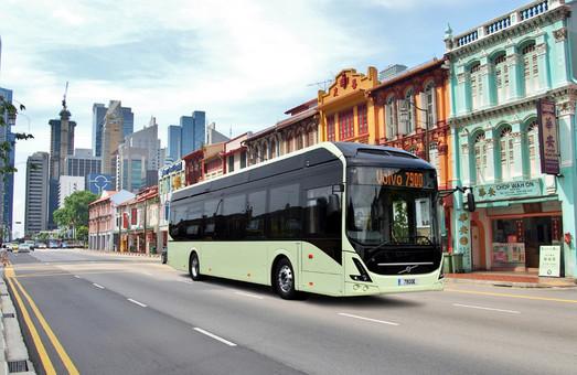 В Швеции показали модель беспилотного городского автобуса