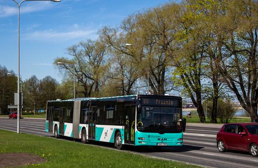 С 1 июля большая часть территории Эстонии отменила плату за проезд в общественном транспорте