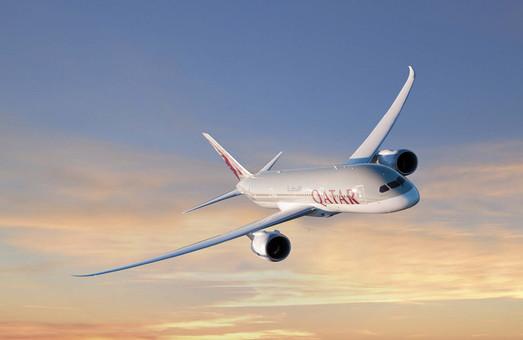 Qatar Airways снова увеличивают частоту полетов в Украину