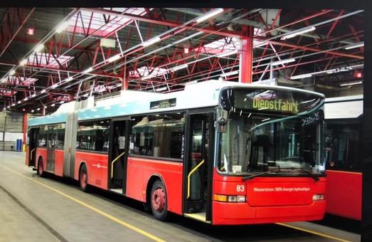 Луцк купил десяток швейцарских троллейбусов