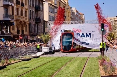 В Ницце запустили вторую линию трамвая