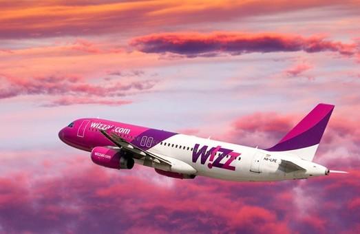 Wizz Air открывает 5 новых рейсов в Европу