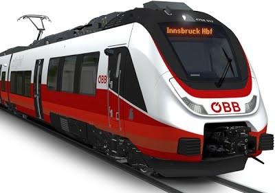 Федеральные железные дороги Австрии приобретают 25 новых электропоездов