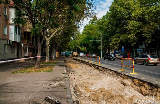 Улицу Сегедскую в Одессе снова раскопают: как пойдет транспорт