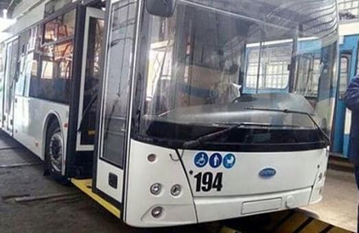"""В Ровно начали поступать белорусские троллейбусы под маркой """"Днепр"""""""