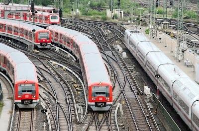 В Гамбурге планируют автоматизировать городскую железную дорогу