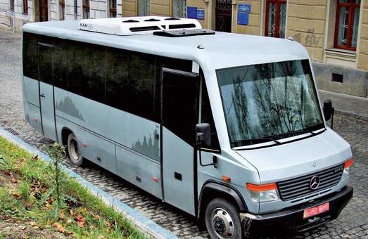 Львовская компания поставит Одесской мэрии два автобуса для перевозки чиновников