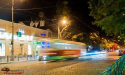 По отремонтированной Преображенской впервые за почти два года проехал трамвай (ФОТО)