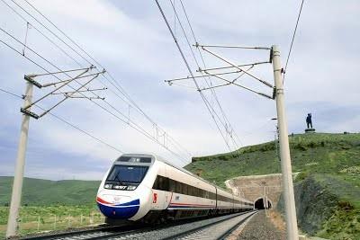 В Турции построят скоростную железнодорожную линию в Европу