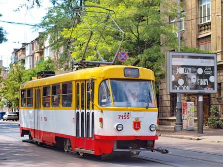 Одесские трамваи возвращаются на прежние маршруты по Преображенской 29 июля