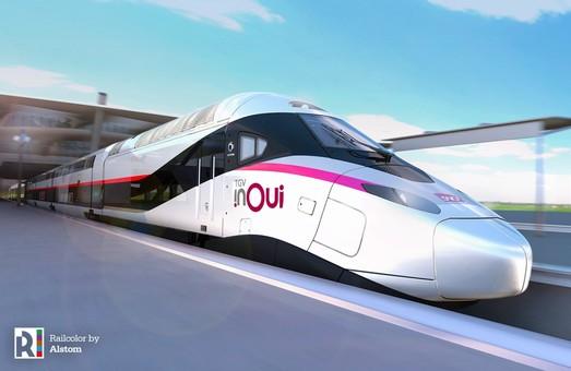 Франция закупает 100 высокоскоростных поездов нового поколения производства Alstom