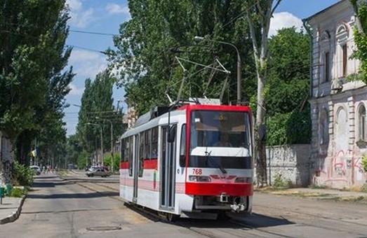 Запорожье купило 4 частично низкопольных трамвайных корпуса