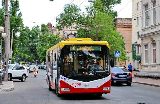 Власти Одессы делают ставку на развитие электротранспорта