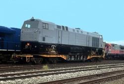 Первый локомотив производства США отправили в Украину