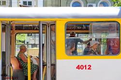 """Одесский трамвай-галерея запустил новую фотовыставку """"Одесса в полете"""""""