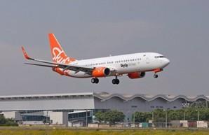Украинский лоукостер SkyUp совершил первый чартерный рейс из Одессы