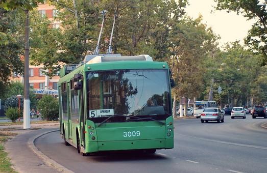 В Одессе стали чаще ходить троллейбусы в Аркадию