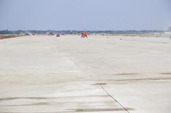 Как строят новую взлетку одесского аэропорта (ФОТО)