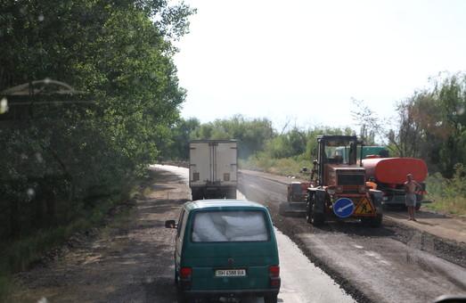 Таможня продолжает финансировать ремонт автотрассы Одесса - Рени