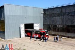 """Донецкие сепаратисты пиарят якобы новый трамвай из старой """"Татры"""" (ФОТО, ВИДЕО)"""