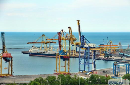 Порт Черноморск увеличил грузооборот почти на треть