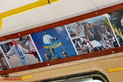 """Трамвай-галерея открывает новую выставку """"Одесса - это Украина"""" (ВИДЕО)"""