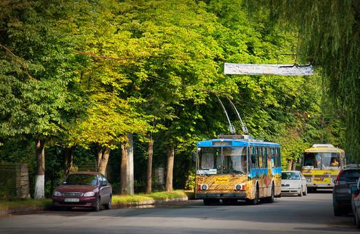 В Тернополе построили новую линию троллейбуса