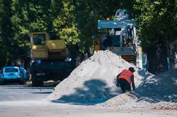 Как в Одессе ремонтируют конечную трамвая на Черемушках (ФОТО)