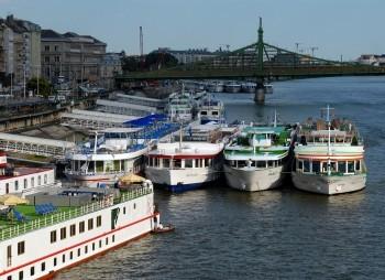 Будапештский порт несёт убытки из-за обмеления Дуная