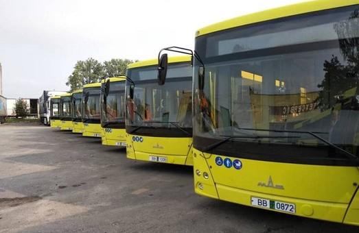 Во Львов привезли первые белорусские автобусы (ФОТО)