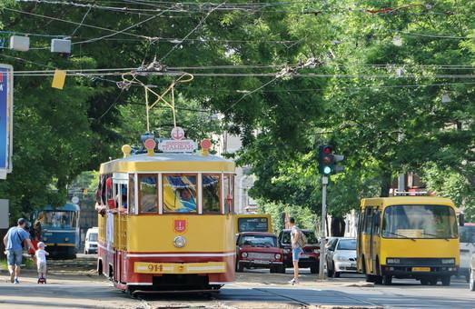 В день города одесский ретро-трамвай будет бесплатно катать всех желающих