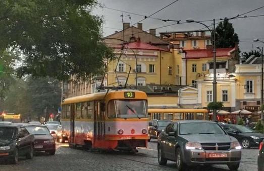 Одесский трамвай №10 снова работает