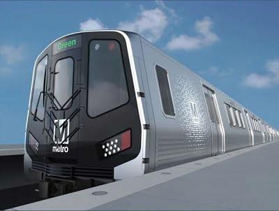 Вашингтон закупает большую партию вагонов метрополитена