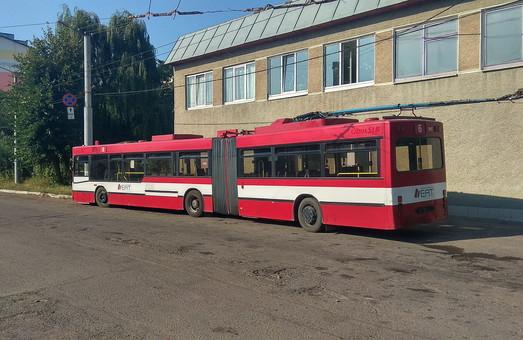 В Ивано-Франковске проходит тендер ЕБРР на строительство новой линии троллейбуса