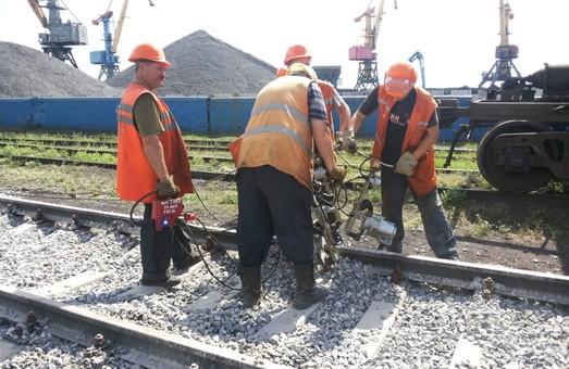 Путейцы Львовской железной дороги получают новый инвентарь
