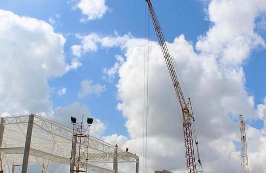 В Запорожье показали, как идет строительство нового терминала аэропорта