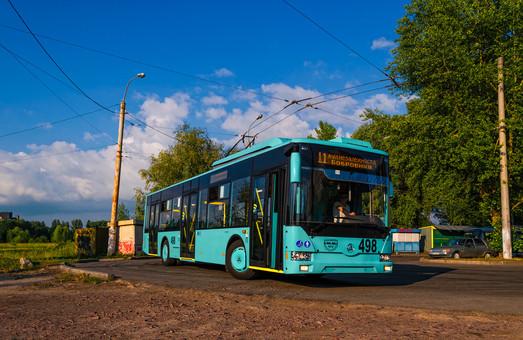 В Чернигове появится еще шесть троллейбусов-«Барвинков»