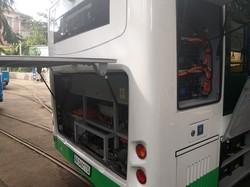 В Виннице начались испытания китайского электробуса