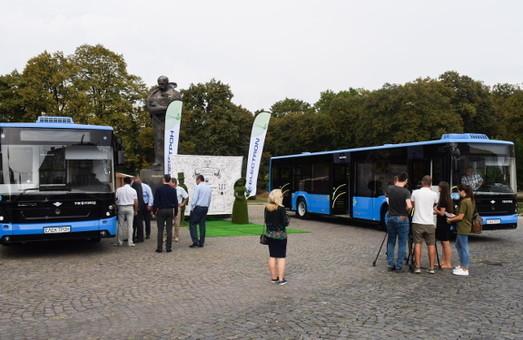 Ужгород получил первые автобусы «Электрон»