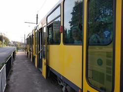 Во Львове на маршрут выехал первый трамвай из Берлина