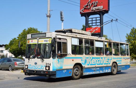 Керченский троллейбус прекратил движение