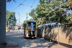 """Одесситам показали новый трамвай """"Одиссей"""" и музей электротранспорта (ФОТО)"""