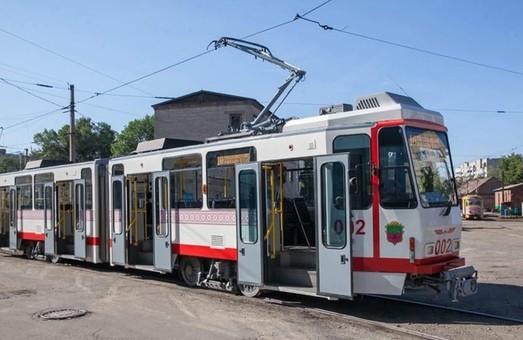До конца года трамвайный парк Запорожья пополнится 20 трамваями