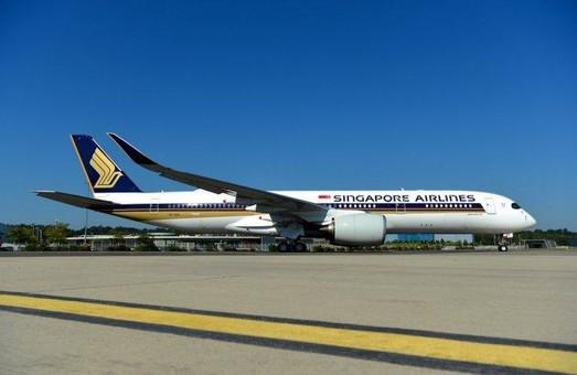 «Singapore Airlines» получила первый аэробус А350 свехбольшой дальности