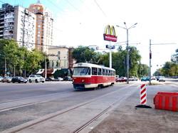 Трамваи в Одессе снова пошли на Большой Фонтан и Дачу Ковалевского (ФОТО)