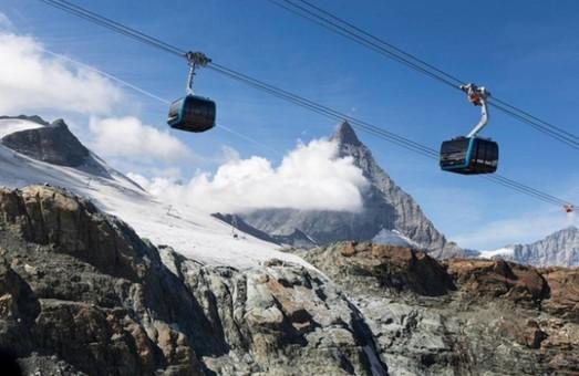 В Швейцарии открыли самую высокую канатную дорогу в мире