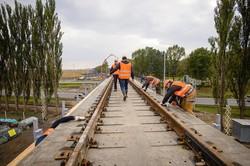 Главный железнодорожник страны проинспектировал строительство линии к аэропорту «Борисполь»
